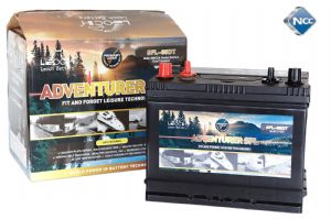 Leoch SFL-85DT - 12v 85Amp Electric Fence Battery with Dual Terminals